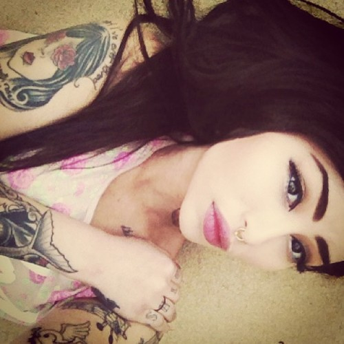plugs tattoos piercings jewelry hair fashion on We Heart It - http://weheartit.com/entry/46365077/via/ciinthya_zamora