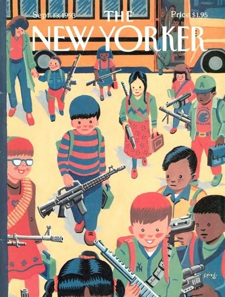 1993 Cover of the New Yorker Might I recommend viewing while also listening to this or this. (via 20 Year-Old New Yorker Cover Perfect For Today)