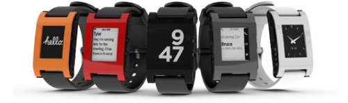 "Shipping dates announced for Pebble watch. The Pebble E-Paper watch, which raised over US$10 million on KickStarter has finally begun mass production and the makers have anounced shipping dates.. If you got in early on KickStarter, shipping begins Jan 23. If you got in later and pre-ordered through their website, shipping begins from March 18, with free worldwide shipping as a ""thank you for your patience"". Also announced was that the watch can now also show SMS messages from an iPhone, a feature which was previously limited to Android devices."
