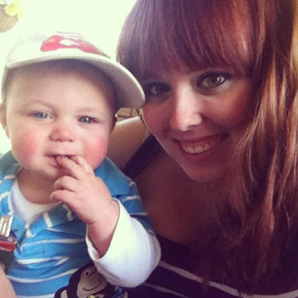 Sunshine fun with my favourite little man