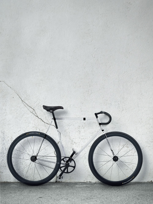 unstablefragments:  designaffairs STUDIO's Fully Transparent Clarity Bike