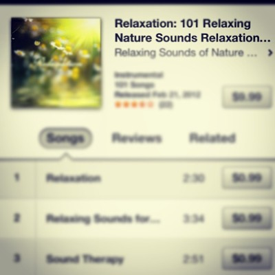 Tempted to #buy this #album. #relaxation #music to calm and have #serenity… It sounds so #peaceful and beautiful….