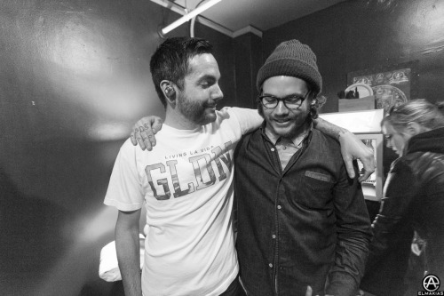 Mr. Jeremy McKinnon and me. Good man and old friend.  MH (Chicago, IL)