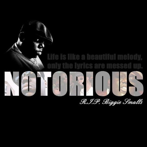 "Happy Birthday to Christopher George Latore Wallace (May 21, 1972 - March 9, 1997) aka Notorious B.I.G ""Life is like a beautiful melody, only the lyrics are messed up."" #biggiesmalls #bigpoppa #hiphop #rap #legend"