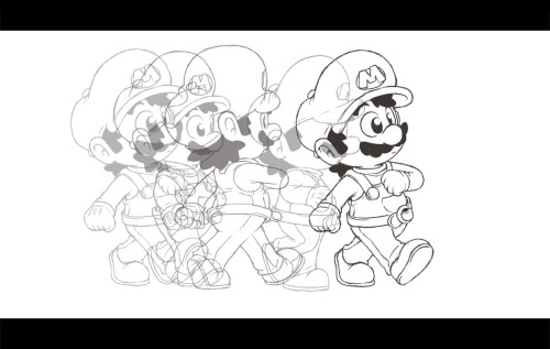 Just a lil Mario animation I've been working on and off with…man I really gotta get this thing done! >_<