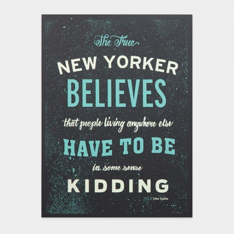 The True New Yorker via swissmiss