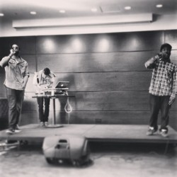 #STJ performance yesterday w/ @mrraisinbrand x @simplematters, thanks for having us @STJNow #HZRDSRSNS #nyc #hiphop #electronic #rap #live #igersofnyc #stage #performance