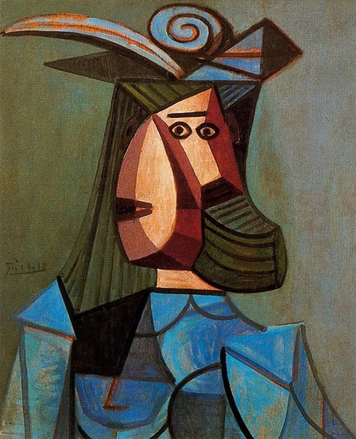 Portrait of Woman (Dora Maar), Pablo Picasso