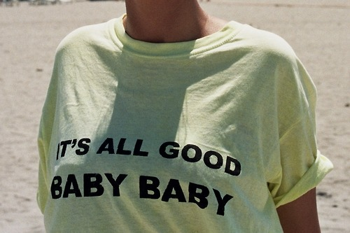 it´s all good baby baby (von Marie Koridze)