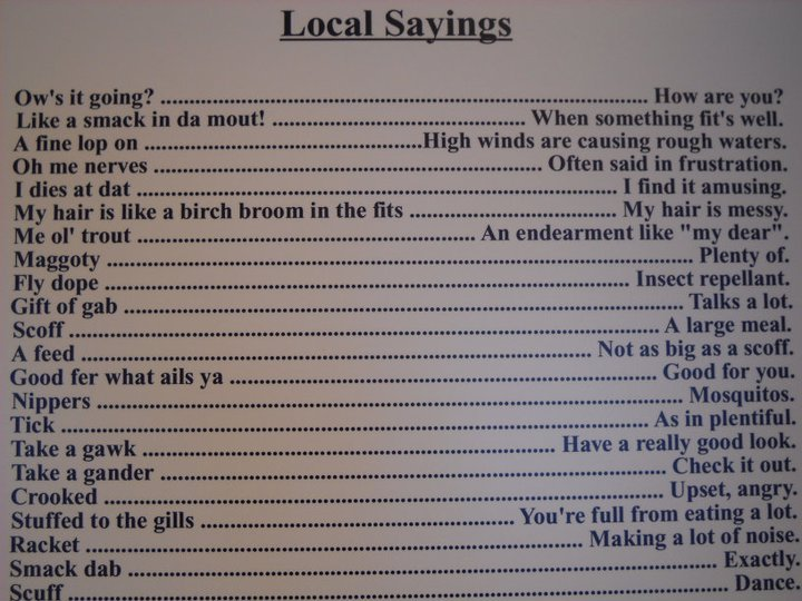 violethorizon-:  newfie lingo :) i actually say about 17 of these things, often haha.  im up to about 13 of these in regular use. (everyone doesn't say scoff??)
