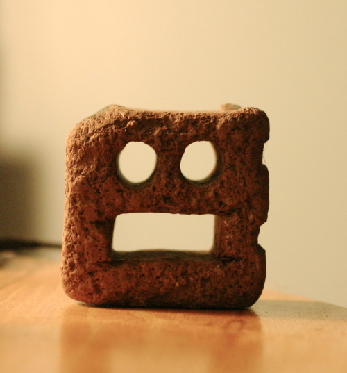 found this robot face brick at tommy thompson and it reminded me of #jivebullshit
