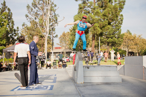 Active Pro, Collin Provost at the Annual Toy Machine Halloween Demo last year!