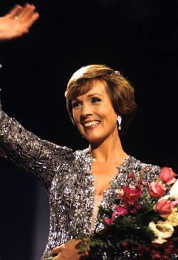 Julie Andrews in Norway.