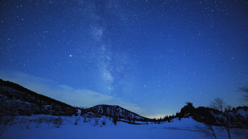 Montenegro, Winter, Milky Way, Night Time Lapse by Anaxan Open Media on Flickr. Outdoor Sporting Goods
