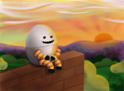 Humpty's last sunrise.