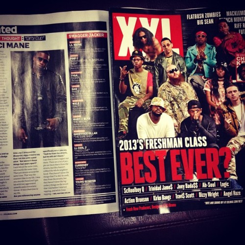 Dopp in that XXL freshman issue mami!!! The page w Gucci awn eht boo boo!