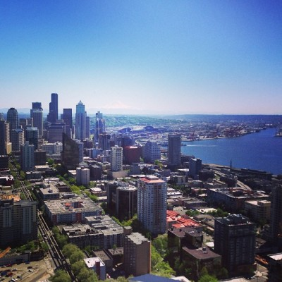 View of Seattle (at SkyCity Restaurant)