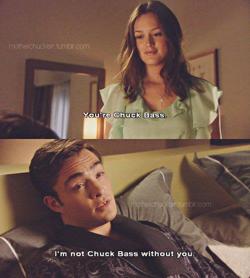 somebodyland:  chuck and blair | Tumblr on We Heart It - http://weheartit.com/entry/56061013/via/MGTG