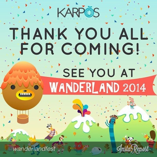 Yaaay!! @magnumph @havainasphils Wanderland 2014 ❤ Phoenix, Ellie Goulding, XX for me. How about yours?
