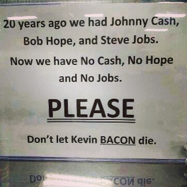 Hahaha… Not the bacon please. 😄