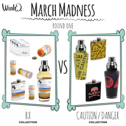 March Madness has come to Wild Eye! Starting today, and running until the end of the month Wink and Wild Eye products will competing for the top spot. Each day we will be posting two images here, and on our Facebook Page. We are looking to you to cast votes for your favorite product. Here is how it works. We post one Wild Eye competition and one Wink competition You vote by commenting on the Facebook Post for each Extra points are awarded if you Like, Tweet, or Pin an item from your favorite collection – just mention it in your comment The game continues all month until only one collection is left – So check back every weekdayfor the next face-off! On March 28th the winner is announced, and the prize is revealed! Game on!