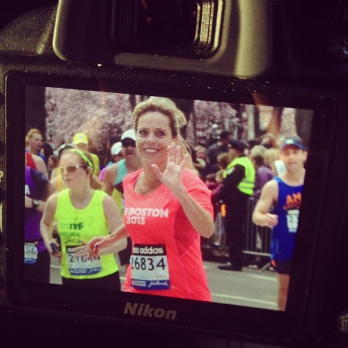 "woahbeau:  after 26.2 miles, she still looks just as beautiful. congratulations on another marathon mum, you're absolutely amazing and I can't imagine life without you. we had a guardian angel protecting our family today. the bombs went off a minute after my mother crossed the finish line and myself and the rest of my family were very close to the area. it was terrifying, but in those minutes I thought I'd lost my mother and my best friend forever, I realized just how precious life is. I thought I might never get to see her again and all I could think about was ""how can I go on without her"" and ""I should've said I love you more"". I realized that life can be taken from you at any moment and you need to remind others of how much you care about them every single day. A guardian angel was watching over our family today. thank you for keeping us safe and congrats on another great finish mum, I love you so much."