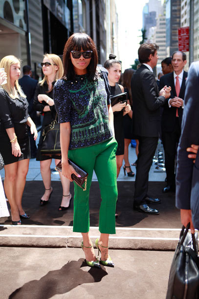 thefashionbomb:  Fashion Bombshell of the Day: Bonang from South Africa