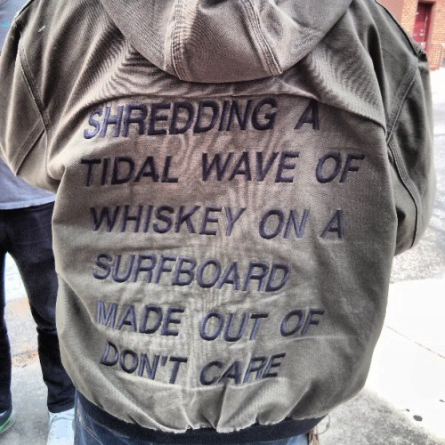 The award for best jacket ever seen at Ultimo goes to…….