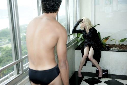 Madonna & Jesus #Madonna#Jesus#Jesus Luz#Steven Klein#2008#blameitonrio #Blame It On Rio #Madonna 2008