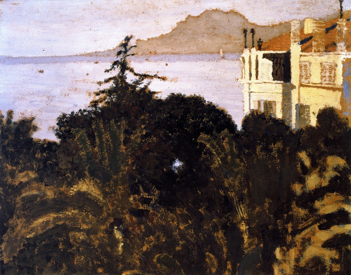 bofransson:  Cannes, Garden on the Mediterranean Edouard Vuillard - 1901