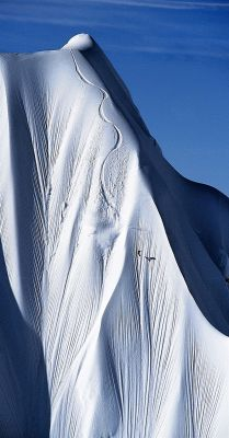 snow alaska white landscape ice mountains glacier
