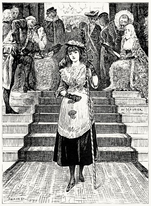 Little Bo-Peep.  George du Maurier, from Pegasus re-saddled, by Henry Cholmondeley-Pennell, Philadelphia, 1878.  (Source: archive.org)