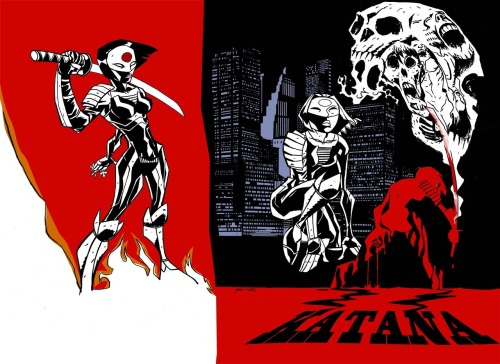 Katana by Michael Avon Oeming