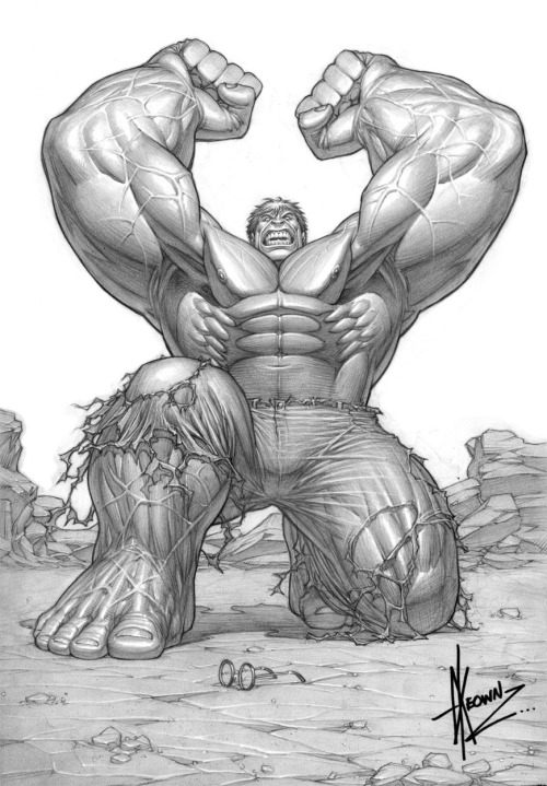 Hulk by Dale Keown…. So sweeeettt   www.comicbookquest.com