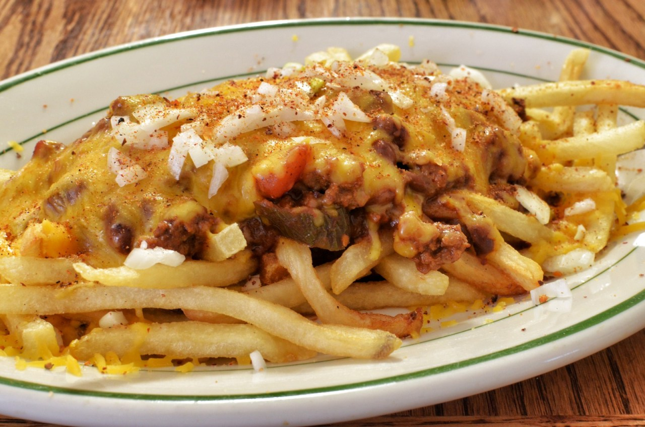 Mmm… chili cheese fries