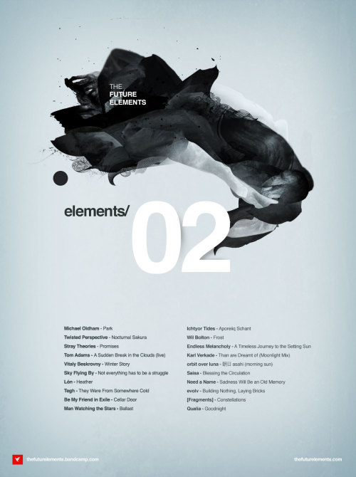 The Future Elements compilation #02 to be out soon. And tomorrow I may schedule a stream for preview listen. More updates on TFE facebook page. Free downloads will be available from Monday