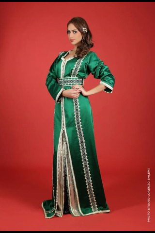 Kaftan by Karima Rochdi, photo Lorenzo Salemi