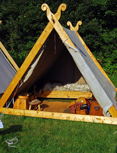 paganroots:  Viking tent by mrpb27
