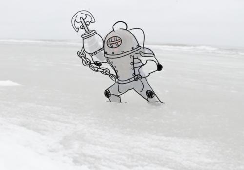 SK shovel knight treasure knight specterpants art my art