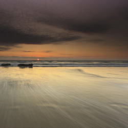Porthtowan Sunset by Martin Mattocks (mjm383) on Flickr.