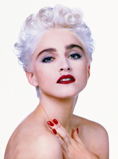 madonnascrapbook:  Madonna by Herb Ritts for Vanity Fair 1986