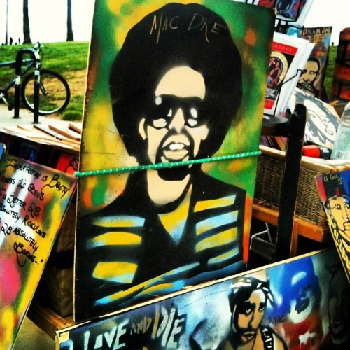 Hip Hop Art. #MacDre #2Pac  (at Venice Beach)