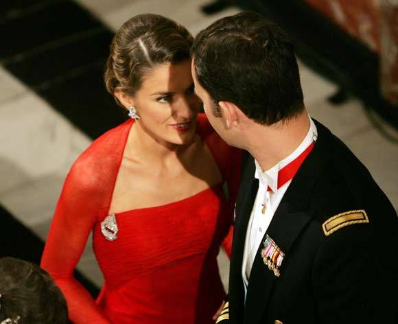 The Prince of Asturias, 45 years, 45 photos. 15- Prince Felipe and his fiancée, Doña Letizia Ortiz Rocasolano, a week before their wedding in Denmark for the marriage of Crown Prince Frederick and Miss Mary Donaldson.