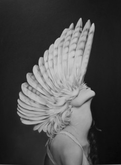 black-white-madness:  Madness:  Ascending Athena by Amy Judd Art