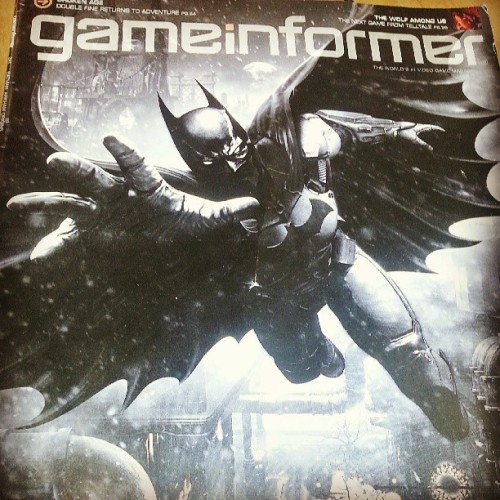 So excited for this!! #gameinformer #batman #arkham origins