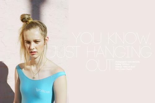 Nicotine MagazinePhotographer: Katie McCurdyStylist: Tiff HornHair: Amber DuarteMakeup: Nikki DeRoest