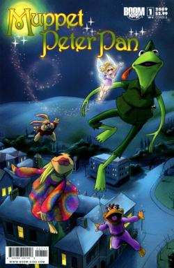 "Ah, my first Muppet Show comic :) What I particularly loved about it was how much it became Janice's story. How she came to love music and find a reason to grow up. I'd still love to write and draw Muppet Alice in Wonderland one day and have Skeeter be the star :) muppetmindset:  Happy 60th Anniversary to Walt Disney's Peter Pan! Here's our favorite take on the beloved classic: BOOM! Studios 4-issue comic arc ""Muppet Peter Pan"" written by Grace Randolph and illustrated by Amy Mebberson!"