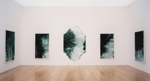 Cy Twombly Gallery at The Menil Collection in Houston, Texas
