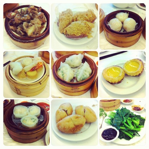 Best yumcha ever! #cravingssatisfied 😄❤ (at Gold Leaf Chinese Restaurant)