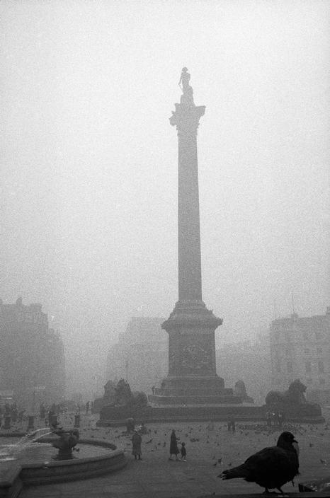 Sergio Larrain London. Trafalgar Square. 1959